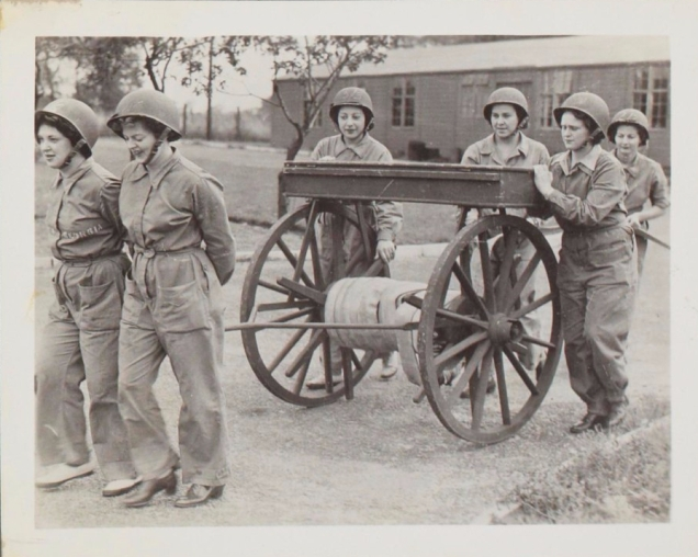 Members of the Women's Army Corps at work.