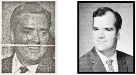 Two Photographs of Homer Badgett taken after the war